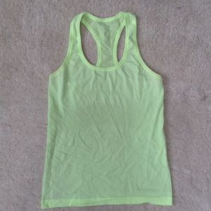Yellow/Green Lululemon Tank